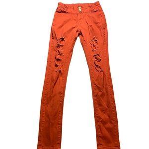 KJ Rust Jeans Size 7